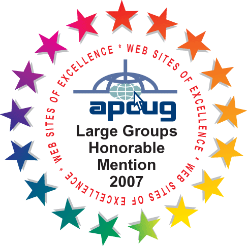 APCUG Website contest